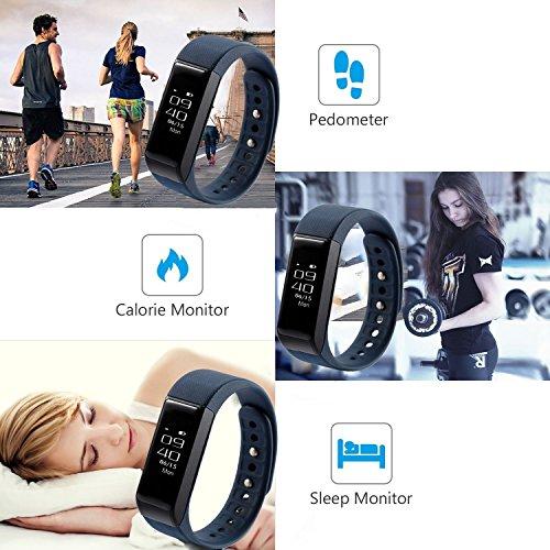ROGUCI Intelligent Fitness Tracker suivi des activités d'exercice bracelet bracelet