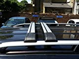 Vauxhall Vivaro Renault Trafic Dachreling + abschließbar Kreuz Bars 2015Onward SWB 75kg Tragkraft