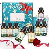Janolia Huiles Essentielles Naturelles, Emballage De Deuxième Génération, 8×10ml Huile Essentielle, Aromathérapie Humidificateurs Oils,Naturelles Ingrédients