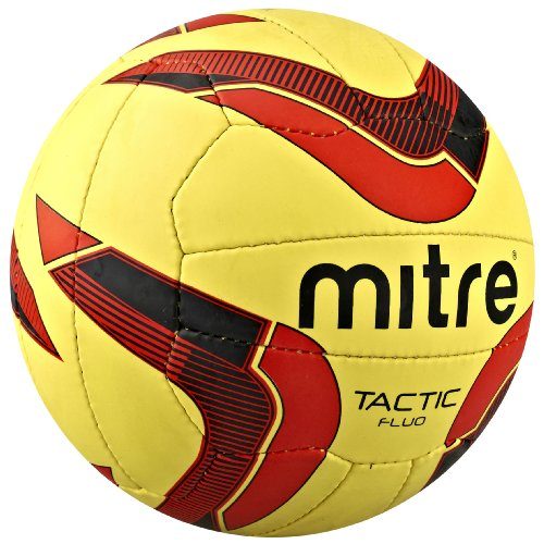 Mitre Tactic Fluo FuÃ?ball, 5