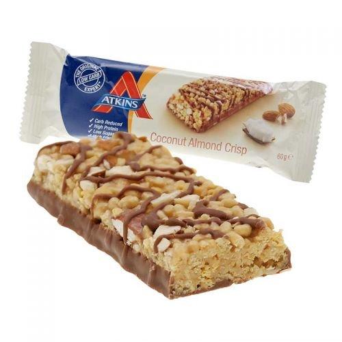 Mandel-kokos-bars (Atkins Advantage Low Carb Bar Coconut Almond Crisp 60g)