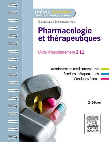 Pharmacologie et thérapeutiques: UE 2.11 - Semestres 1, 3 et 5