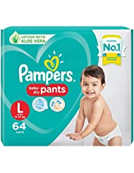 Pampers Large Size Diapers Pants, 64 Count