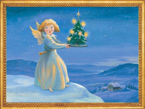 Weihnachtsengel: Nostalgischer Adventskalender