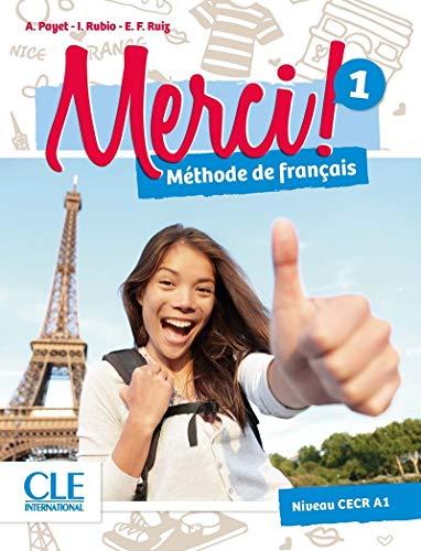 Merci! 1 - Niveau A1 - Livre + DVD par Adrien Payet