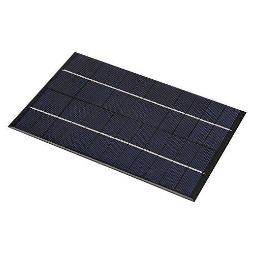 Descripción:   Este mini panel solar es de alta tasa de conversión y salida de alta eficiencia.Es perfecto para el suministro de energía de la iluminación de la lámpara solar de patio, el sistema de iluminación doméstico pequeño, la iluminación de l...