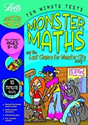 Ten Minute Monster Tests Maths 9-10: Ages 9-10