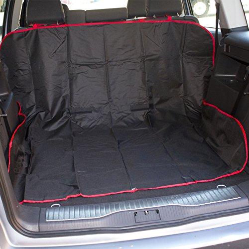 Babz 2 in 1 Boot Liner & Auto Sitzbezug - Ideal für Haustiere - SCHWARZ