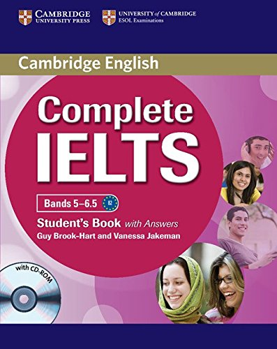 Complete IELTS: Bands 5-6.5, With Answers, CD-ROM and Class Audio CDs (2)