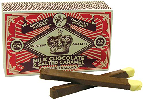 Mr Stanley Milk Chocolate Matches with Salted Caramel