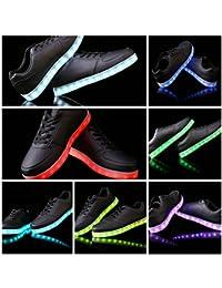 Leuchtende LED Schuhe / Sneaker mit Farbwechsel - sofort lieferbar