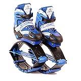 OOFAY Zapatos De Rebote Kangoo Jumps Niños Saltando Stilts Fitness Ejercicio Rebotando Peso Rango De Carga 30-50 Kg,Blue