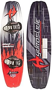 Hydroslide Black Widow Wakeboard, Black, 56-Inch by Hydro Slide