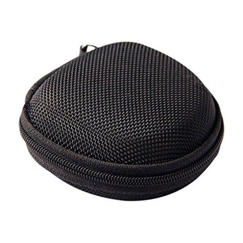 Jinzuke Tragbare Kopfhörer-Beutel-Münzen-Geldbeutel-Kopfhörer-Kasten Kabel-Aufbewahrungsbehälter