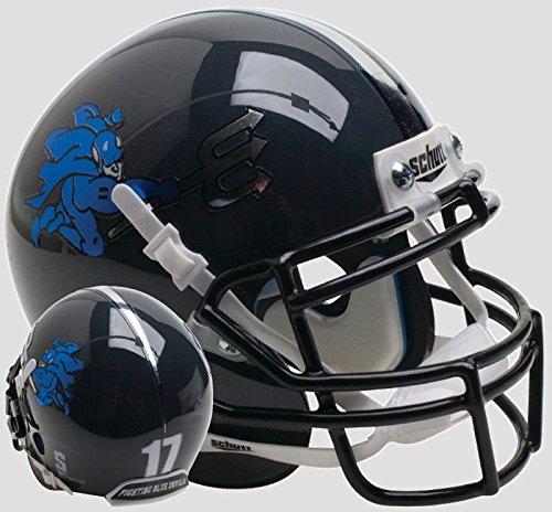 Schutt NCAA Duke Blue Devils Mini Authentic XP Fußballhelm, Unisex, NCAA Duke Blue Devils Mini Authentic XP Football Helmet, Alt. 5, Mini