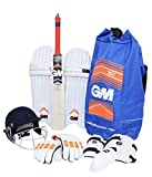 #9: GM Jr.303 Cricket Kit Set With Helmet Size (5)