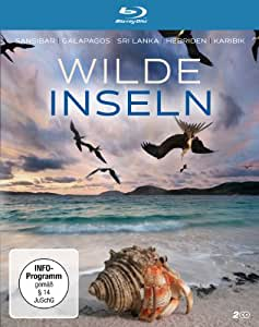 Wilde Inseln - Staffel 1 (Sansibar / Die Karibik / Galapagos / Sri Lanka / Die Hebriden) (2 Blu-rays)