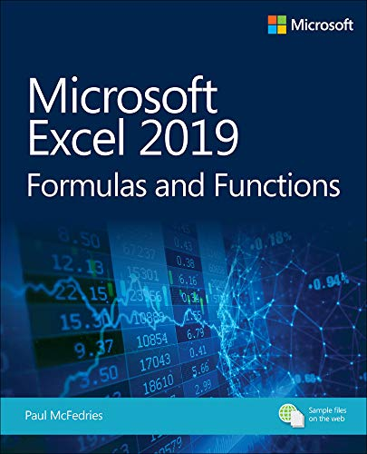 Microsoft Excel 2019 Formulas and Functions (Business Skills) (English Edition)
