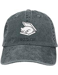 Wfispiy Sombrero del Deporte de la Gorra de béisbol de los Casquillos del Gato 2019 de
