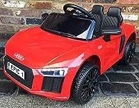 Licenza Audi R8Spyder-Questo elegante e sportiva Audi R8Spyder è uno dei più famosi stili intorno e ora i vostri bambini possono guidare uno, too. Porte apribili-realistico porte apribili. 2.4G Bluetooth telecomando parentale-l' auto può ess...