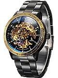Best Chronograph Watches - Alienwork IK Mechanical Automatic Watch Men Women Watches Review
