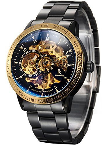 Alienwork-IK-Automatic-Watch-Self-winding-Skeleton-Mechanical-Stainless-Steel-black-black-98226-20