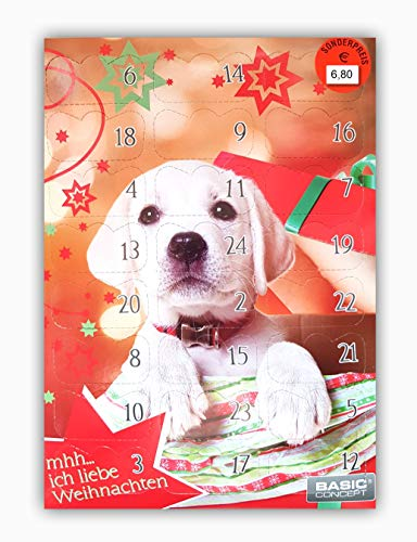 Basic C Hunde Adventskalender 192 g Hundeadventskalender