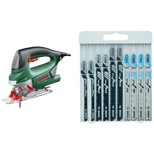 Bosch PST 1000 PEL + 10 hojas de sierra