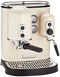 kitchenaid artisan kes 100 espressomaschine creme. Black Bedroom Furniture Sets. Home Design Ideas