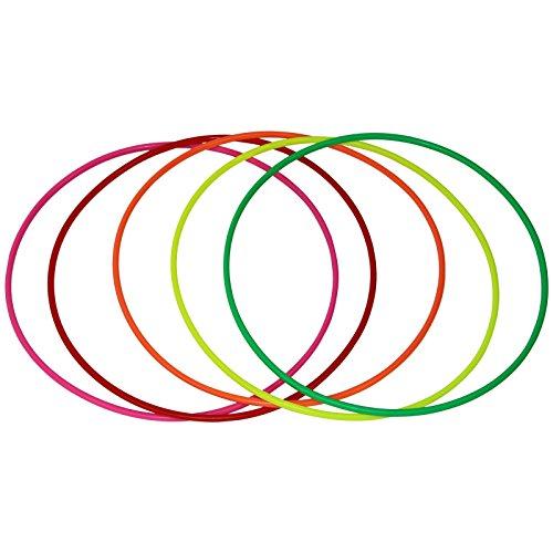 Anneaux à jongler kit de 5 multicolore ø 34 cm de BB...