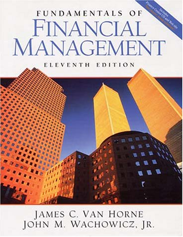 Fundamentals of Financial Management, w. CD-ROM