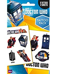GB eye Doctor Who Mix Tattoo Pack, Multi-Colour