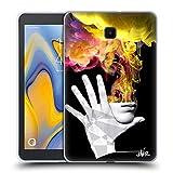 Head Case Designs Ufficiale LouiJoverArt La Fuga Fuoco E Fumo Cover in Morbido Gel Compatibile con Galaxy Tab A 8.0 (2018)