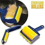 Neue Wiederverwendbare Sticky Buddy Teppich Kleidung Fusseln Fell-Entferner, für Roller