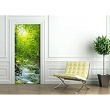 Papel pintado para puertas for Papel pintado amazon