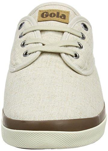 Gola Herren Seeker Linen Sneakers Braun (Oatmeal)