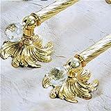 Set bagno kit accessori Italiani oro barocco dorati accessori da bagno