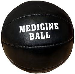 CSI Leather Medicine Ball, 2 Kg (Black)