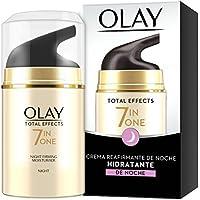 Olay Total Effects 7en1 - Hidratante Anti-Edad Reafirmante De Noche, Combate Los 7 Signos De La Edad - 50 ml