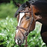 Harnachement du cheval heinick de léquitation Edle Proline Bridon ~ Alina rundgenäht ~ Bridon suédois RH demi-sang pur-sang