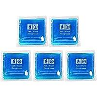 COM-FOUR® Mehrfach Kompresse für Kälte und Wärme 15 x 15 cm (15x15cm - 5 Stück) preisvergleich bei billige-tabletten.eu