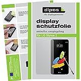 dipos I 2X Schutzfolie matt passend für LG Stylus 2 Folie Displayschutzfolie