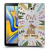 Head Case Designs Eule Seelen Tiere Abbildungen Ruckseite Hülle für Samsung Galaxy Tab A 10.5 (2018)