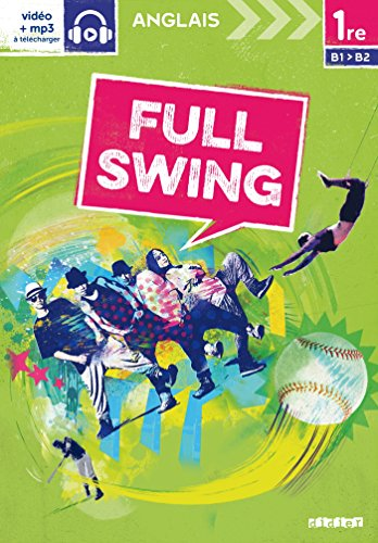 Full Swing 1re - Livre por Jérémy Corbé