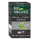 Indus Valley Bio Organic 100% Soft Black Henna Hair Color (100g)