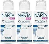 Narta Mini Colonia desodorante antitranspirante para las mujeres 100ml - juego de 3