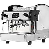 Eingruppige Siebträgermaschine Kaffeemaschine 460 x 590 x 530 mm 6 Liter 2,8 kW 230 V Boiler aus Kupfer elektronische Steuerung