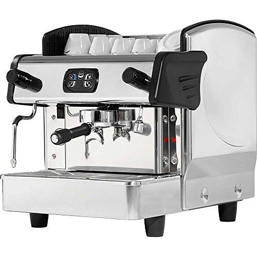 Eingruppige Siebträgermaschine Kaffeemaschine 460 x 590 x 530 mm 6 Liter 2,8 kW 230 V Boiler aus...