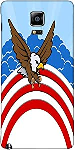 Snoogg Bald Eagle 4Th Of July Vector Theme Design Designer Protective Back Ca...