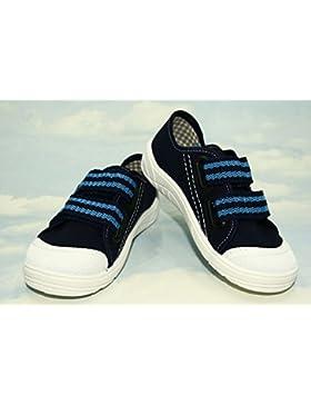 Bajo–High Top Zapatillas Zapatillas, Niños, Niños, Niñas, unisex, lanced, Velcro, Caucho, antideslizante–Sobre...